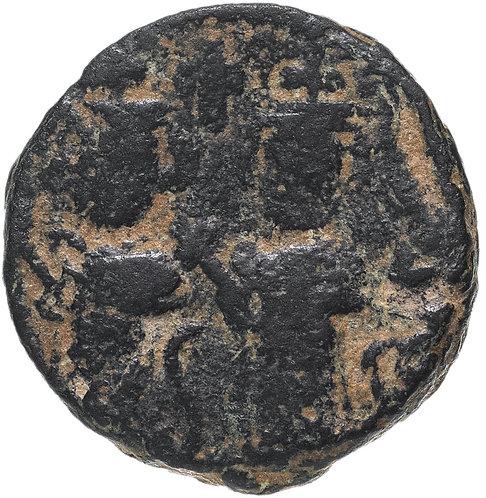 Арабо-Византия, Омейяды, Фельс. Г.Баальбек (Ливан). VII век 661-697 гг. (Гелиопо