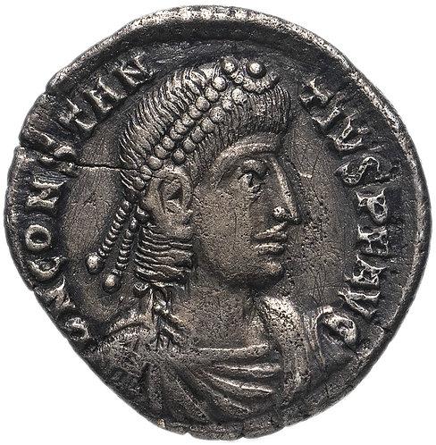 Римская империя, Констанций II, 337-361 годы, аргентей.