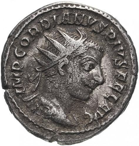 Римская империя, Гордиан III, 238-244 годы, Антониниан (Соль). Gordian III (Sol)