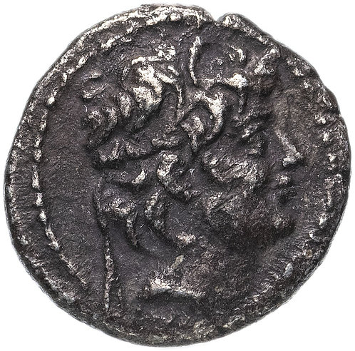 Государство Селевкидов, Александр II Забина, 128-122 годы до Р.Х., гемидрахма.