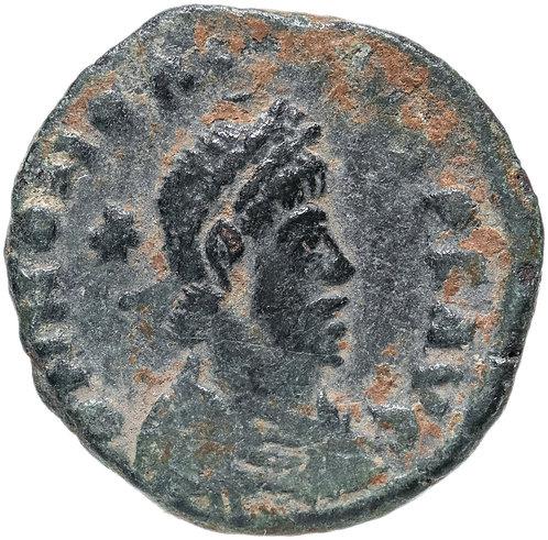 Римская империя, Гонорий, 393-423 годы, нуммий.
