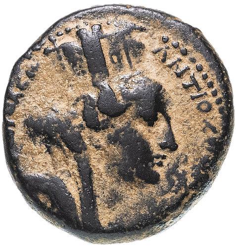 Сирия, Антиохия-на-Оронте, квази-автономная чеканка, 127/8 год, трихалк. Hadrian