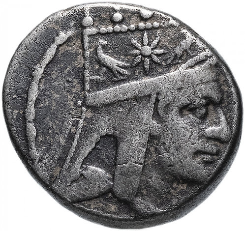 Великая Армения, Тигран II Великий, 95-56 годы до Р.Х., Тетрадрахма (Серебро)