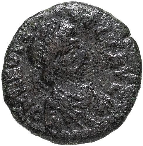 Римская Империя, Лев I, 457-474 годы, Майорина. (Медь) Roman Empire, Leo I, AE.