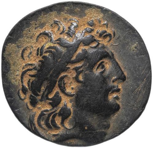 Селевкиды, Трифон, 142-138 годы до Р.Х., АЕ19.Бронза. Tryphon ,bronze