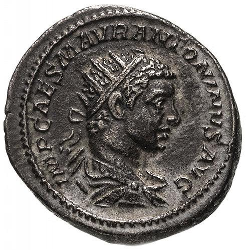 Римская империя, Элагабал, 218-222 годы, антониниан. Elagabal AR Antoninianus