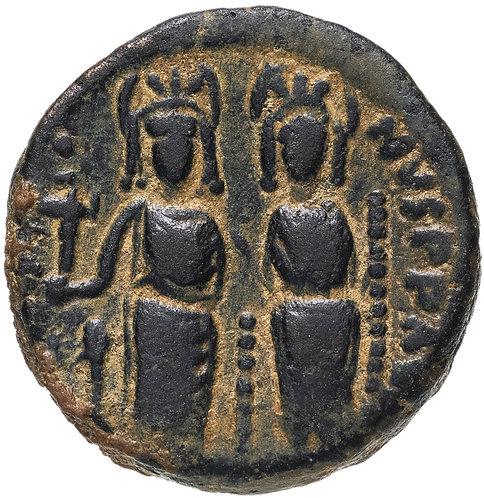 Византийская империя, Юстин II и София, 565-578 годы, 20 нуммиев.