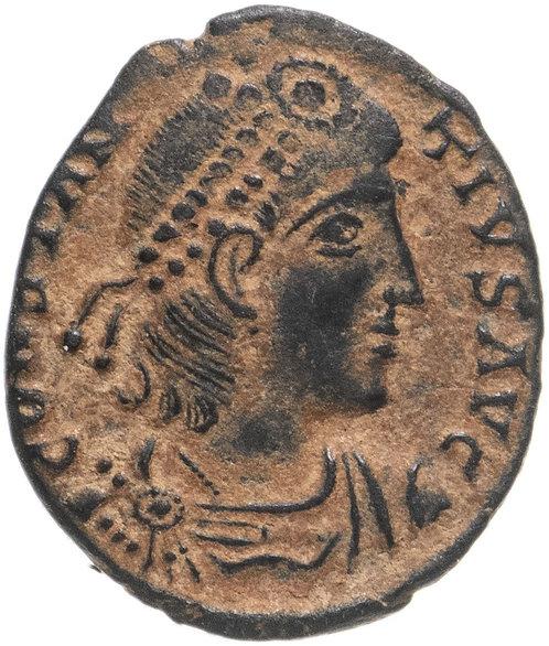 Римская империя, Констанций II, 337-361 годы, Нуммий.