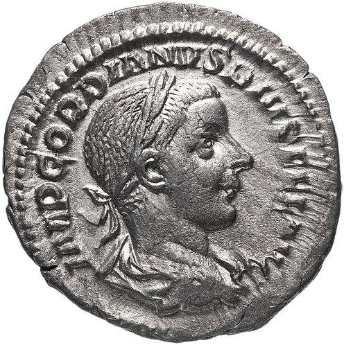 Римская империя, Гордиан III, 238-244 годы, Денарий. (Юпитер) Gordian III