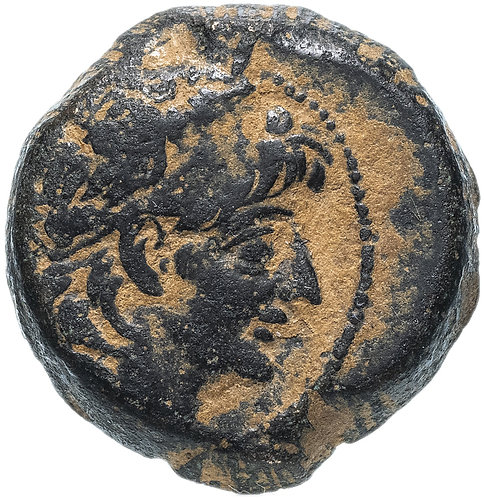 Селевкиды, Александр II Забина, 128-122 гг. до н.э., бронза АЕ22
