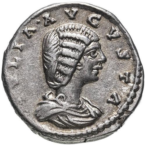Римская империя, Юлия Домна, супруга Септимия Севера, Денарий. Серебро. Domna