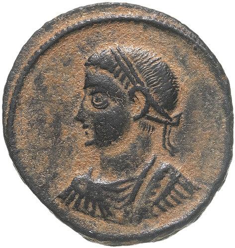 Римская империя, Константин II, 317-340 годы, нуммий. Цезарь. Constantine II AE