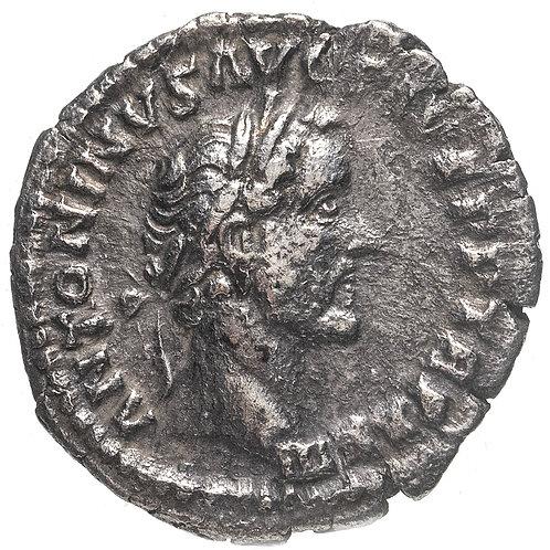 Римская империя, Антонин Пий, 138-161 годы, Денарий. Пация (персонификация Мира)
