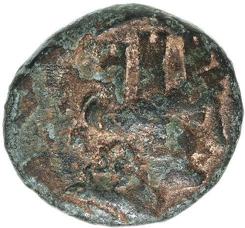 Киликия, Корикос , 150-50 до Р.Х., АЕ21. (Гермес)