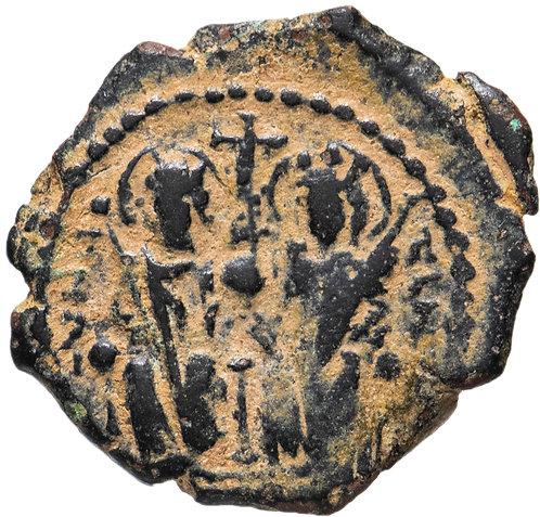 Византийская империя, Юстин II, 565-578 годы, 1/4 фоллиса (Декануммии) Byzantine