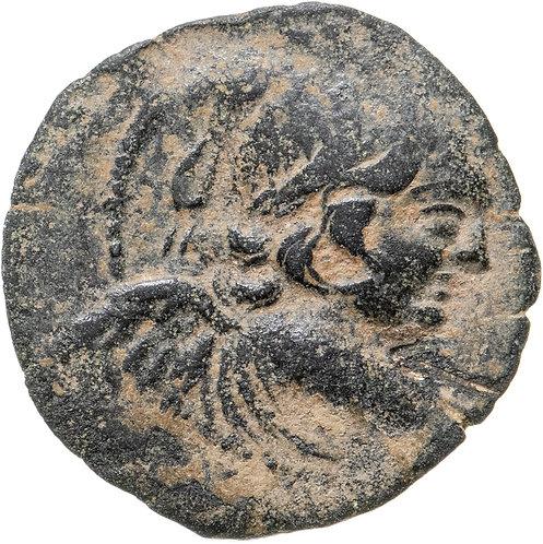 Государство Селевкидов, Антиох VII Эвергет, 138-129 годы до Р.Х., АЕ18.