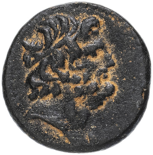 Сирия, Антиохия-на-Оронте, квази-автономная чеканка, 100-200 гг, AE16. Асклепий