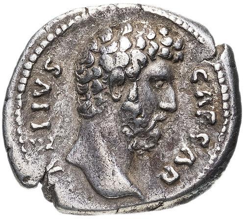 Римская империя, Элий Вер, 136-138 годы, денарий. (Фелицитас) Aelius