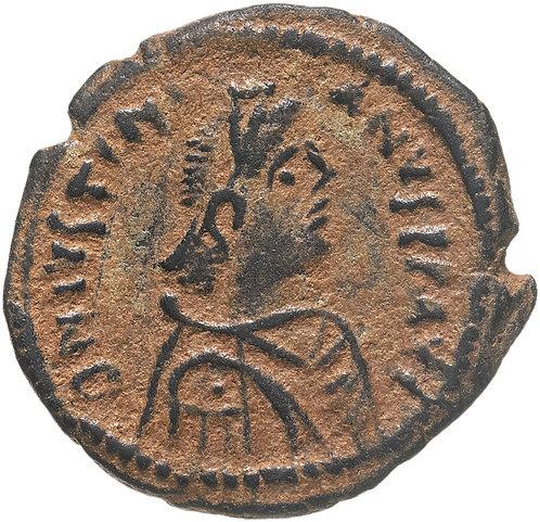 Византийская империя, Юстиниан I, 527-565 годы, пентануммий.Justinian Pentanummi