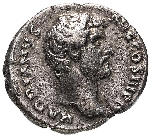 Римская империя, Адриан, 117-138 годы, Денарий. (Спея) персонификация Надежды.