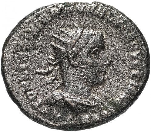 Римская империя, Волузиан , г. Антиохия, 251-253 годы, Тетрадрахма. Volusian AR