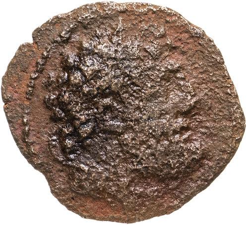 Селевкиды, Деметрий II Никатор (129-125 до.н.э) , АЕ19.