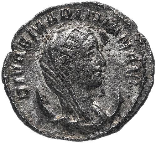 Римская империя, Мариниана, супруга Валериана I 253-260 год, антониниан. павлин