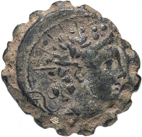 Селевкиды,Антио́х VI Диони́с Эпифан , 145-142 годы до Р.Х.,AE23.(слон)