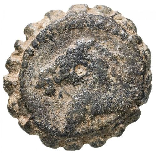 Государство Селевкидов, Деметрий I Сотер 162-150 до. Р.Х., АЕ 16. (Слон,Лошадь)