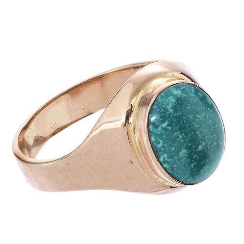 Кольцо женское, золото 583 пр., СССР.