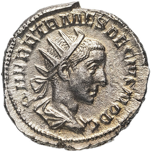Римская империя, Геренний Этруск, 250–251 годы, антониниан.
