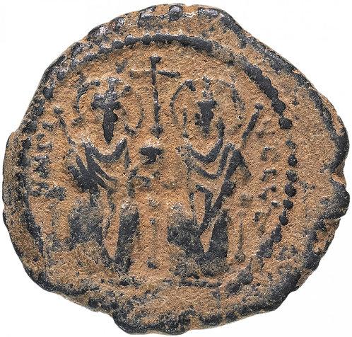 Византийская империя, Юстин II и София, 565-578 годы, 20 нуммиев. Justin Sohpia