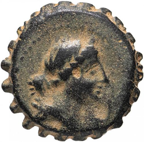 Селевкиды, Деметрий I Сотер 162-150 до. Р.Х., АЕ20.