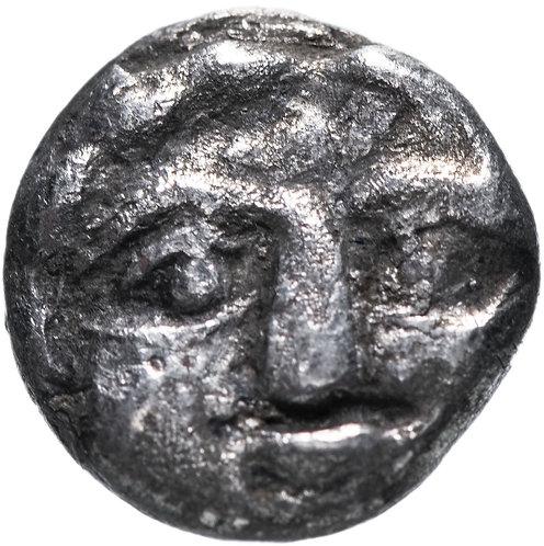 Писидия, Селге, 400-333 годы до Р.Х., обол. (Медуза,Горгона)