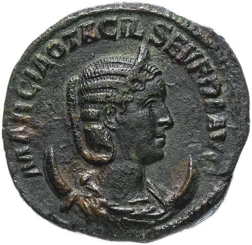 Римская империя, Отацилия Севера, жена Филиппа I Араба, Асс. Бронза