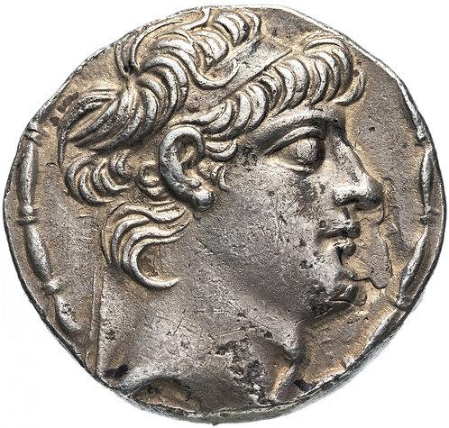 Государство Селевкидов, Антиох X, 94-88 до Р.Х., Тетрадрахма.