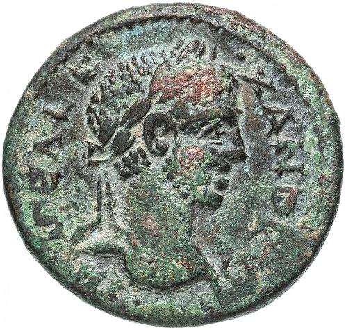 Рим, Александр Север, Троада (Александрия Троадская), 222-235 годы, бронза 27мм.