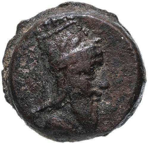 Великая Армения, Тигран V, 6-12 гг, Дихалка. Бронза (Слон) Tigranes V, Elephant.