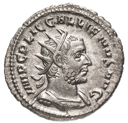 Римская империя, Галлиен, 253–268 годы, антониниан.(Виртута) Gallienus AR Virtus