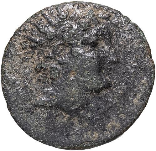 Селевкиды, Антиох VI Дионис Эпифан, 144-142 годы до Р.Х., АЕ21 бронза. Г. Апамея