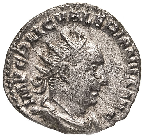 Римская империя, Валериан I, 253–260 годы, Антониниан.(Виктория) Valerian I AR