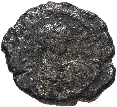 Византийская империя, Юстиниан I, 527-565 годы, пентануммий. (5 нуммиев)