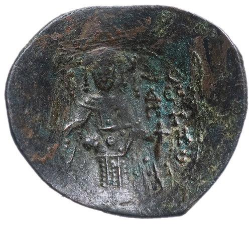 Византийская империя, Исаак II Ангел, 1185-1195 годы, аспрон трахи.