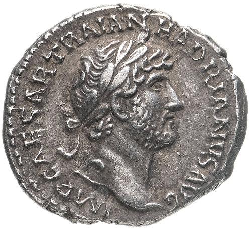 Римская империя, Адриан, 117-138 годы, денарий. Hadrian, Denarius
