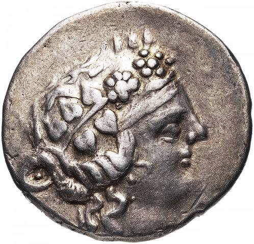 Фракийское царство, Фасос, 148-90/80 годы до Р.Х., тетрадрахма. (Дионис) Thasos