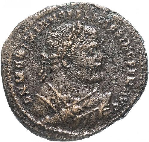 Римская империя, Максимиан Геркулий, 285-305 годы, Нуммий. (Медь)