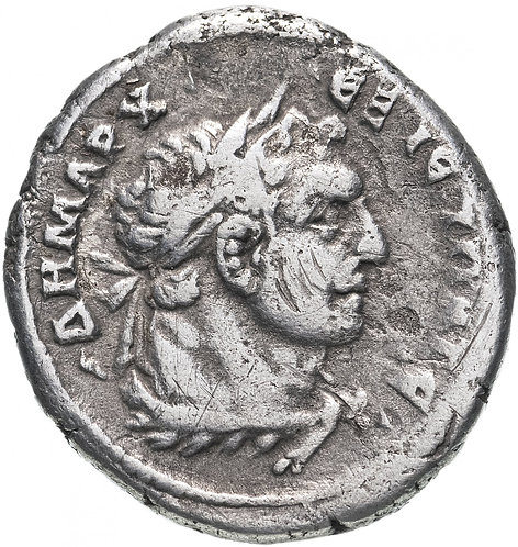 Римская империя, провинция, Финикия, Тир, Траян 98-117 Годы, Тетрадрахма. Trajan