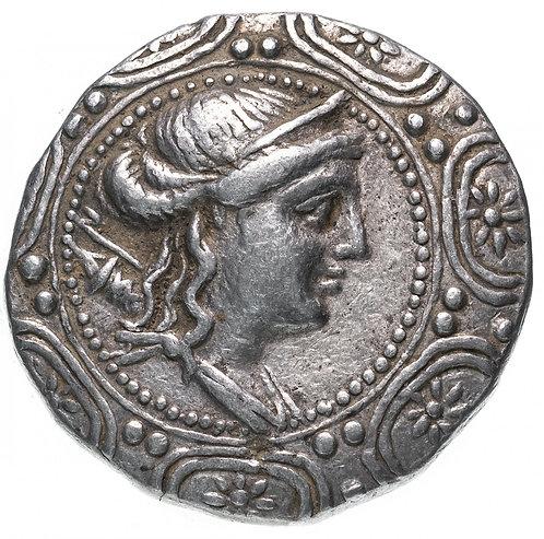 Македония, римский протекторат, 167/158-149 годы до Р.Х., Тетрадрахма. Macedon
