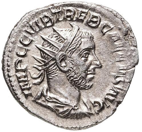 Римская империя, Требониан Галл, 251-253 годы, Антониниан. Trebonianus Gallus,AR