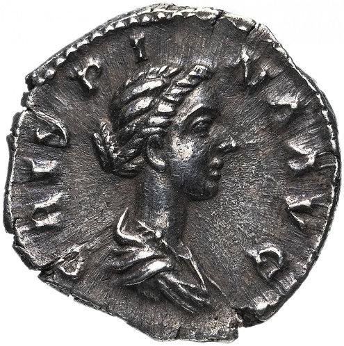 Римская империя , Криспина, супруга Коммода, 180-183 годы, Денарий.